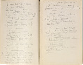 View Fenollosa, Ernest Francisco. Notes taken before Mr. Freer's Collection in Detroit. digital asset number 1