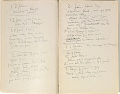 View Fenollosa, Ernest Francisco. Notes taken before Mr. Freer's Collection in Detroit. digital asset number 2