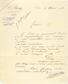 View Record of Charles Lang Freer's purchase of Japanese paintings from the Hayashi Sale in Paris digital asset: Record of Charles Lang Freer's purchase of Japanese paintings from the Hayashi Sale in Paris