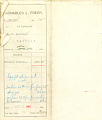 View Shipping record of Charles Lang Freer's purchases of Egyptian artifacts and Greek manuscripts in Egypt digital asset: Shipping record of Charles Lang Freer's purchases of Egyptian artifacts and Greek manuscripts in Egypt