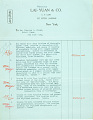 View Record of Charles Lang Freer's purchase of Chinese bronzes and jade from Lai-Yuan & Company. December 1915 digital asset number 6