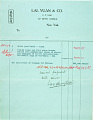 View Record of Charles Lang Freer's purchase of Chinese bronzes and jade from Lai-Yuan & Company. December 1915 digital asset number 10