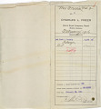 View Record of Charles Lang Freer's purchase of one small Chinese bronze incense burner and one collection of ancient jade from Lai Yuan & Company. February 15, 1916 digital asset number 0