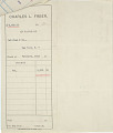 View Record of Charles Lang Freer's purchase of one small Chinese bronze incense burner and one collection of ancient jade from Lai Yuan & Company. February 15, 1916 digital asset number 2