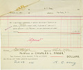 View Record of Charles Lang Freer's purchase of 4 Chinese landscape paintings, 9 tapestries, 5 pieces of jade, and 1 piece of pottery from K. T. Wong digital asset: Record of Charles Lang Freer's purchase of 4 Chinese landscape paintings, 9 tapestries, 5 pieces of jade, and 1 piece of pottery from K. T. Wong