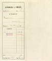 View Record of Charles Lang Freer's purchase of Japanese, Korean and Chinese art objects from Yamanaka & Company, New York digital asset: Record of Charles Lang Freer's purchase of Japanese, Korean and Chinese art objects from Yamanaka & Company, New York