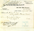 View Record of Charles Lang Freer's purchase of a painting by Abbott Handerson Thayer from M. Knoedler & Co., New York digital asset: Record of Charles Lang Freer's purchase of a painting by Abbott Handerson Thayer from M. Knoedler & Co., New York