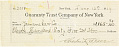View Record of Charles Lang Freer's purchase of a Chinese stone animal from Yamanaka & Company, New York digital asset: Record of Charles Lang Freer's purchase of a Chinese stone animal from Yamanaka & Company, New York