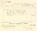 View Record of Charles Lang Freer's purchase of a Chinese painting from Tonying & Co., New York digital asset: Record of Charles Lang Freer's purchase of a Chinese painting from Tonying & Co., New York