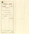 View Record of Charles Lang Freer's purchase of a painting by James McNeill Whistler from Percy Moore Turner of Norfolk England digital asset: Record of Charles Lang Freer's purchase of a painting by James McNeill Whistler from Percy Moore Turner of Norfolk England