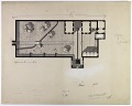 View Mosul (Iraq): Private House: Penciled Ground Plan [drawing] digital asset number 0