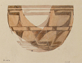 View D-467,  D-468,  D-469,  D-470,  D-471,  D-472,  D-473,  D-474,  D-475: Excavation of Persepolis (Iran): Reconstruction of Pottery with Painted Patterns: Rounded Jars and Conical Bowls, from Prehistoric Mound of Tal-i Bakun (PPA) digital asset: Excavation of Persepolis (Iran): Reconstruction of Pottery with Painted Patterns: Rounded Jars and Conical Bowls, from Prehistoric Mound of Tal-i Bakun (PPA) [drawing]