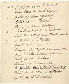 """View Dinner List:  """"Dîner des amis de l'art Japonais""""  Guest list and addresses for a dinner, guests include Claude Monet. digital asset: Guest list of Les Amis de Art Japonaise Diner"""