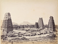 View Still Prints of Asia: View of a Temple Complex, India, circa 1860s-1870s digital asset: Still Prints of Asia: View of a Temple Complex, India, circa 1860s-1870s