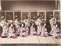 View The 'Miyako-odori' dancing in Kioto, [After 1872]. [graphic] digital asset number 2