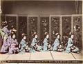 View The 'Miyako-odori' dancing in Kioto, [After 1872]. [graphic] digital asset number 3