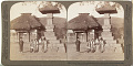 View (36) Little folks on their playground before the quaint village schoolhouse, Karuizawa, Japan, 1904 or earlier. [graphic] digital asset number 0