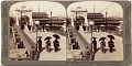 View (53) Modern improvements in an ancient city - W. over the Kamogawa at Shijo Bridge, Kyoto, Japan, 1904 or earlier. [graphic] digital asset number 0