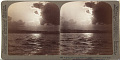 View (88) A silvery path over the Inland Sea - looking north from a boat off the Harima shore, Japan, 1904 or earlier. [graphic] digital asset number 0