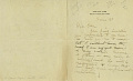 View Correspondence, Abbott H. Thayer to Clara A. May 1890-1899 digital asset number 18
