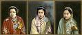 View Three Portraits of Royal Nepalese Women digital asset: Three Portraits of Royal Nepalese Women