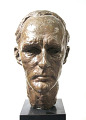 View Bust of Thomas Lawton digital asset: Bust of Thomas Lawton
