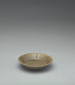 View Small dish with five-lobed rim, lobes accented with iron stripes digital asset number 0