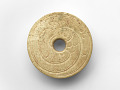 View Pendant in the form of a disk with bird digital asset number 0