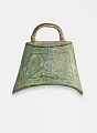 View Funerary replica (<em>mingqi</em>) of a bell digital asset number 0