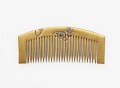 View Comb with decoration of butterflies digital asset number 0