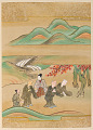 View Album with scenes of the <em>Tsurezuregusa</em> (Essays in Idleness) digital asset number 19