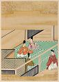 View Album with scenes of the <em>Tsurezuregusa</em> (Essays in Idleness) digital asset number 33
