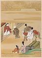 View Album with scenes of the <em>Tsurezuregusa</em> (Essays in Idleness) digital asset number 42