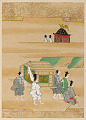 View Album with scenes of the <em>Tsurezuregusa</em> (Essays in Idleness) digital asset number 47