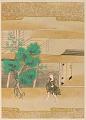 View Album with scenes of the <em>Tsurezuregusa</em> (Essays in Idleness) digital asset number 49