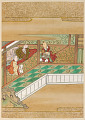 View Album with scenes of the <em>Tsurezuregusa</em> (Essays in Idleness) digital asset number 54