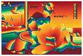 "View ""Rainbow Hokusai"" digital asset number 0"