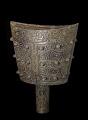 View Hollow shaft bell (<em>nao</em>) with taotie masks and dragons digital asset number 3