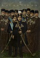 View Ahmad Shah Qajar and his Cabinet digital asset number 0