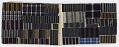 """View Daifukucho (""""lucky notebook""""); album of striped textile scraps digital asset number 3"""
