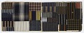 """View Daifukucho (""""lucky notebook""""); album of striped textile scraps digital asset number 0"""