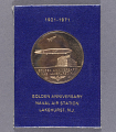 View Medal, Commemorative, 50th Anniversary of Lakehurst Naval Air Station digital asset number 0
