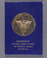 View Medal, Commemorative, 50th Anniversary of Lakehurst Naval Air Station digital asset number 2