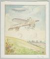 View Untitled [Bleriot's Monoplane in Flight] digital asset number 0