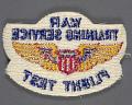 View Badge, Flight Test, War Training Service, Civil Aeronautic Administration digital asset number 2