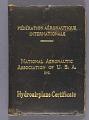 View Certificate, F. A. I., James H. Doolittle digital asset number 0