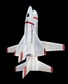 View Model, Space Shuttle,Grumman/Boeing H-33 2-Stage Parially-Reusable Concept 1:192 digital asset number 3