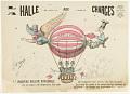 View La Halle Aux Charges. Le Nouveau Ballon Dirigeable. La Belle Alphonsine. 14 Septembre 1884. digital asset number 0