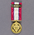 View Medal, Miniature, Distinguished Service Medal, United States Army digital asset number 2
