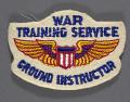 View Badge, Ground Instructor, War Training Service, Civil Aeronautic Administration digital asset number 0